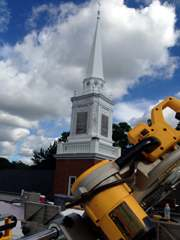 church steeple painting repair