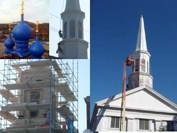 Church steeple repair and restoration services altavistaventures Images