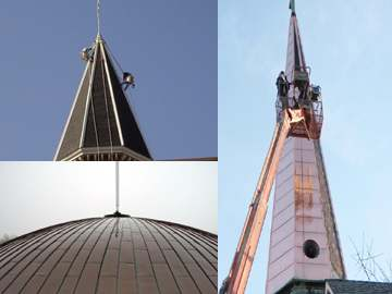 church steeple roofing services cis steeplejack