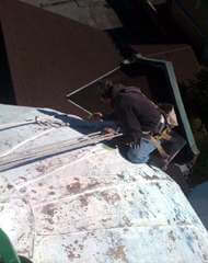 dome repair painting